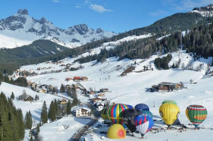 balloonweken in Filzmoos