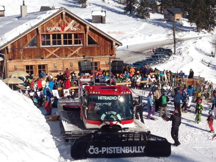 O3 pistenbully in die Tauplitz
