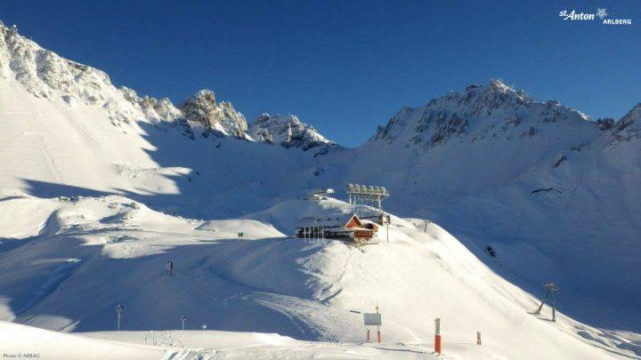 winterbeelden st.anton am arlberg