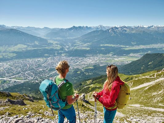 Lange afstandwandelpaden in Innsbruck