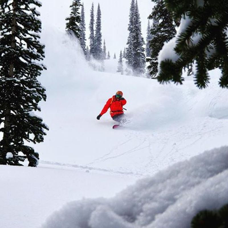 When it is this deep, you need a board that will perform better than the rest.  We make finely tuned, pow slaying machines that will take your experience to the next level.  Get yours today at www.winterstick.com! Photo: @robkingwill #winterstick #snowboarding #madeinusa
