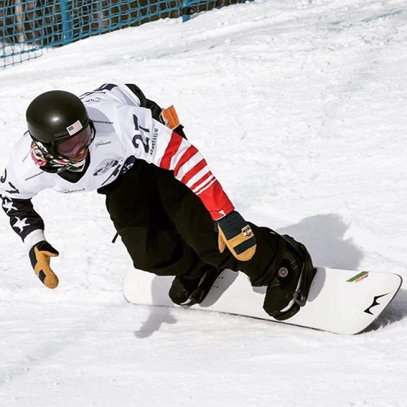 Huge congratulations to @elliott_sendy for being the new Paralympic SBX World Champion! #Winterstick #ArtOfTheTurn #snowboarding