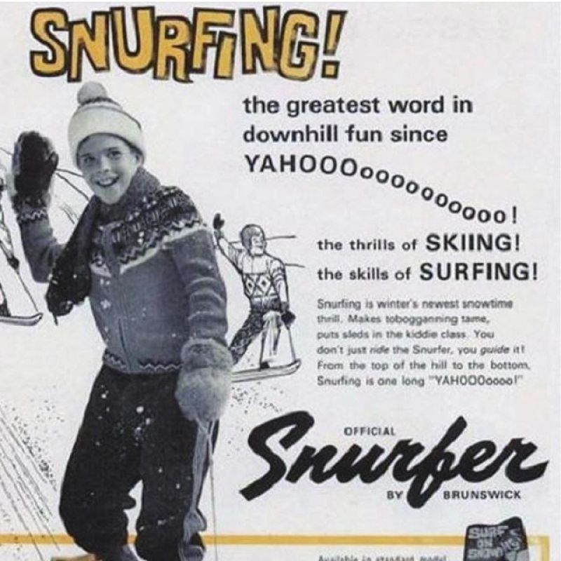 Thank you #ShermanPoppen for inspiring us all to surf frozen waves and live a life standing sideways. Sherman invented the Snurfer in 1965, launching a revolution of fun and flow that we will forever be grateful for. Ride in peace.