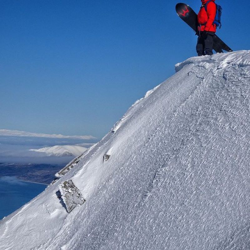 New Years resolution: stand on top of more mountains.  Ride more pow.  #winterstick #artoftheturn #snowboarding Build your dream board now at www.winterstick.com