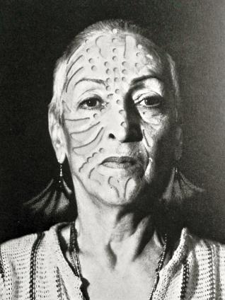 Heinz-Günter Mebusch, Portrait Meret Oppenheim