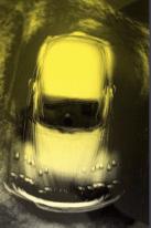 Heinz-Günter Mebusch, Moving, Yellow Volkswagen
