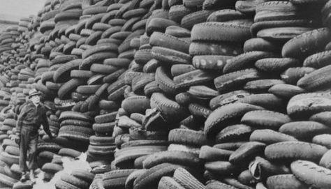 cracked tyres