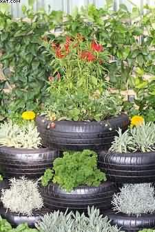 recycled tyres