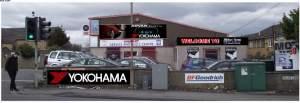 Yokohama tyres at Chelsea FC