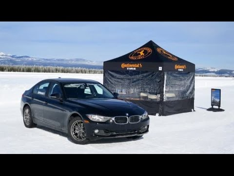Continental Winter TS850 Tyres: TS 850 Best Handling BMW on Snow
