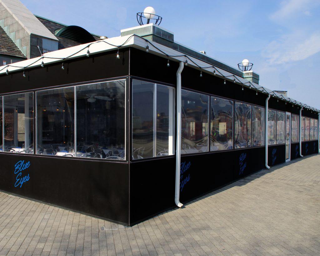 patio enclosures winter vestibule