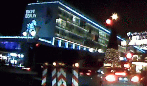 Berlin Christmas market dash cam