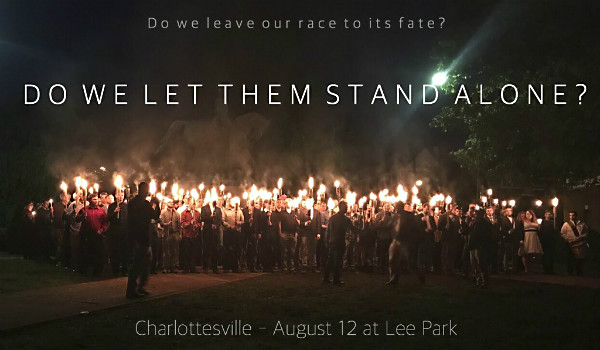 Charlottesville rally poster