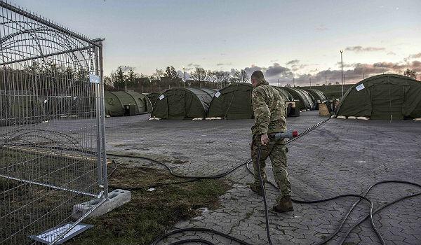 Denmark refugee camp