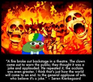 Clown World: Destructive Cults in the Broader Culture