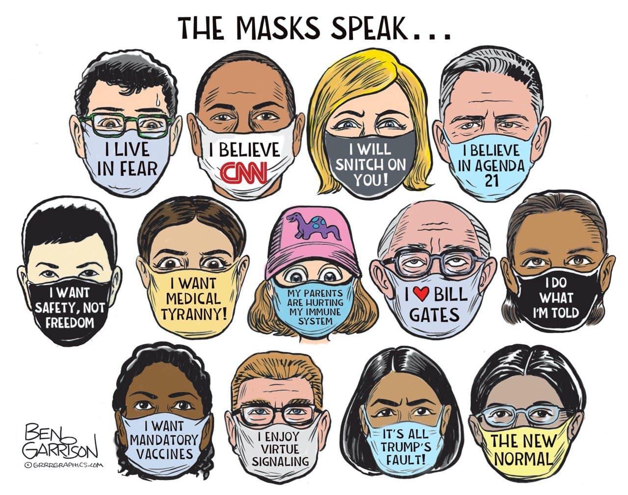 Ben-Garrison-Masks-Cartoon