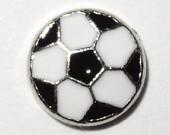 Soccer Ball Floating Charm for Forever in My Heart Locket Jewelry