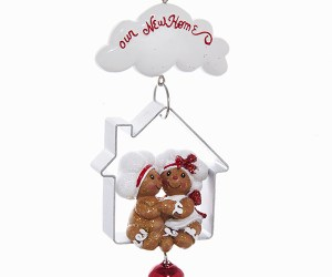 """Gingerbread """"Our New Home"""" Ornament"""