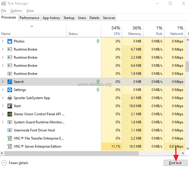 FIX: Cannot type in Windows 10 Search bar. (Solved) - wintips.org - Windows Tips & How-tos