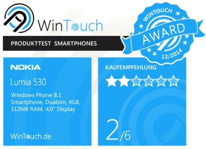 Lumia530_award
