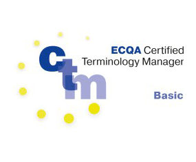 certified terminology manager