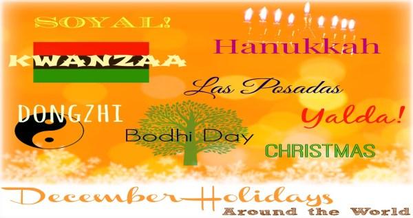 December A Month of Celebrations! wintranslation blog