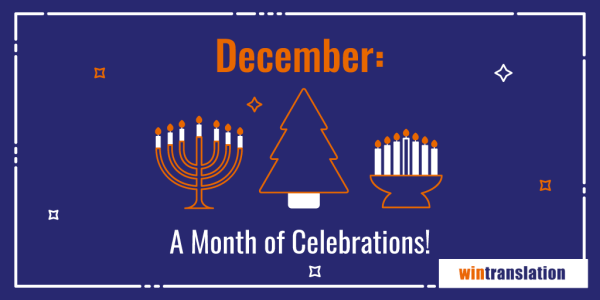 December A Month of Celebrations! wintranslation blog
