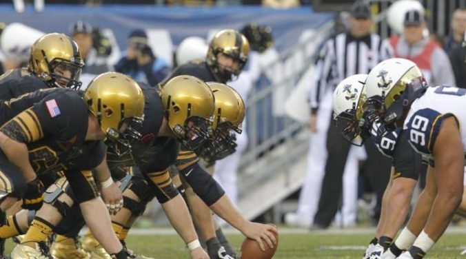 Image result for Navy Midshipmen vs. Army Knights