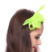 vintage satin bow ribbon headband