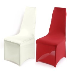 Red Spandex Chair Sashes Chairs For Posture Covers Available In White Black