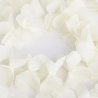 2 Yards 3D Ivory Flower Chiffon Petals Trim Lace Trimmings ...