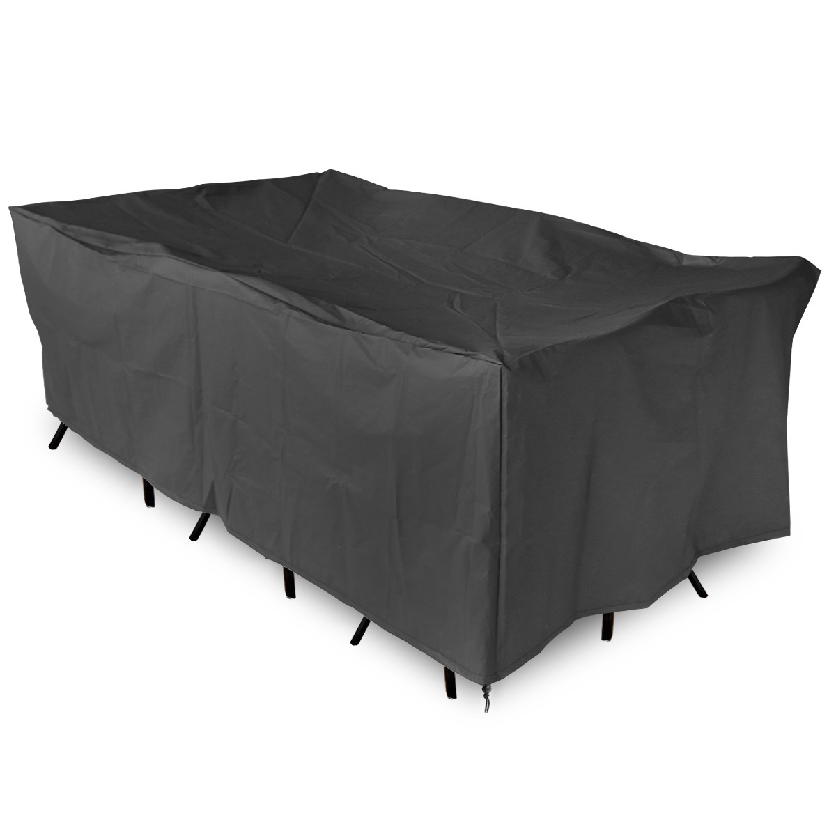 black outdoor chair covers kids personalized chairs garden patio furniture set cover cube waterproof ebay