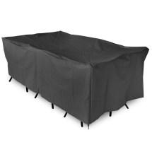 Garden Patio Furniture Set Cover Cube Waterproof Black