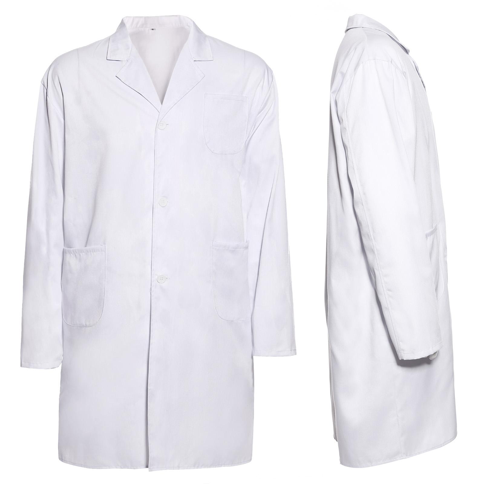 White Lab Coat Jacket Doctor Hospital Warehouse Food
