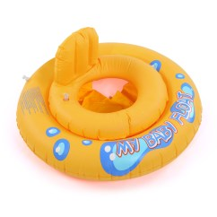 Baby Blow Up Ring Chair Living Room Ideas Kid Swimming Seat Infant Inflatable Aid Trainer