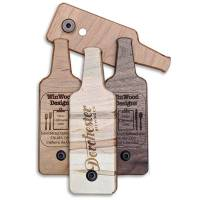 BO-BS Bottle Shaped Bottle Openers Custom Engraved