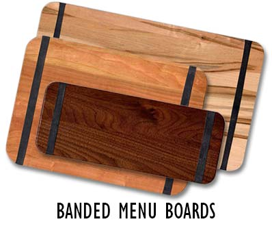 Banded Menu Boards