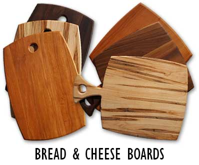 Bread and Cheese boards for serving food and drink