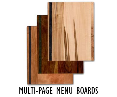Multi Page Menu Boards