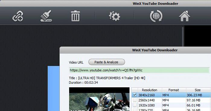 Download 4K Content