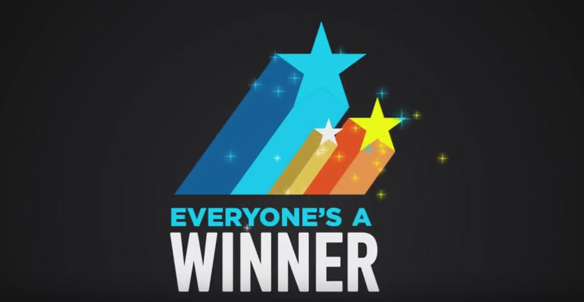Dave  Busters Everyones A Winner Giveaway TV Commercial