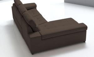 Sofás modernos, simulación tapicería, 3