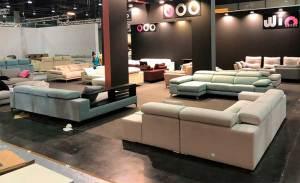 Sofá con diseño especial 2019, sofás personalizados, 19,7