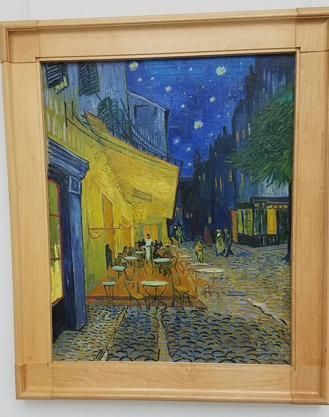 Van Gogh's Cafe Terrace at Night