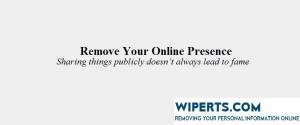 Remove Your Online Presence