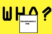 Transparency for Who?