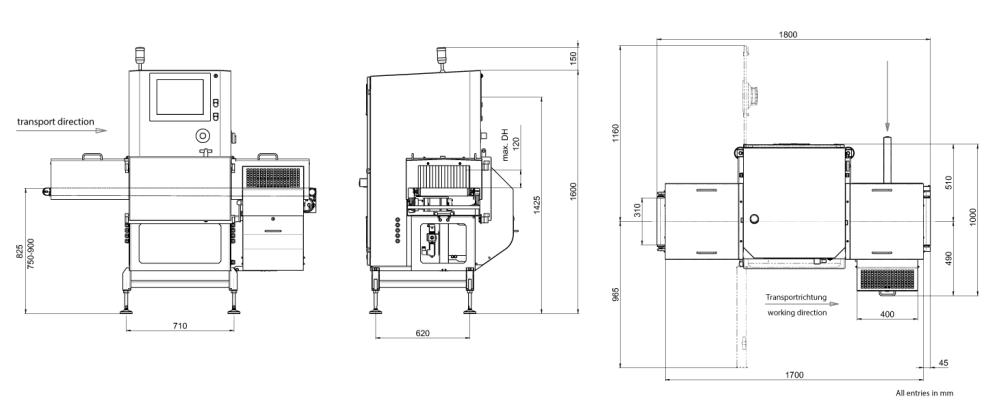 medium resolution of x ray inspection sc e 3000 technical drawing large