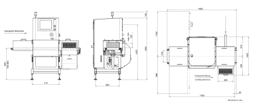 small resolution of x ray inspection sc e 3000 technical drawing large