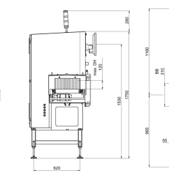 x ray inspection sc e 3000 technical drawing medium [ 1460 x 570 Pixel ]