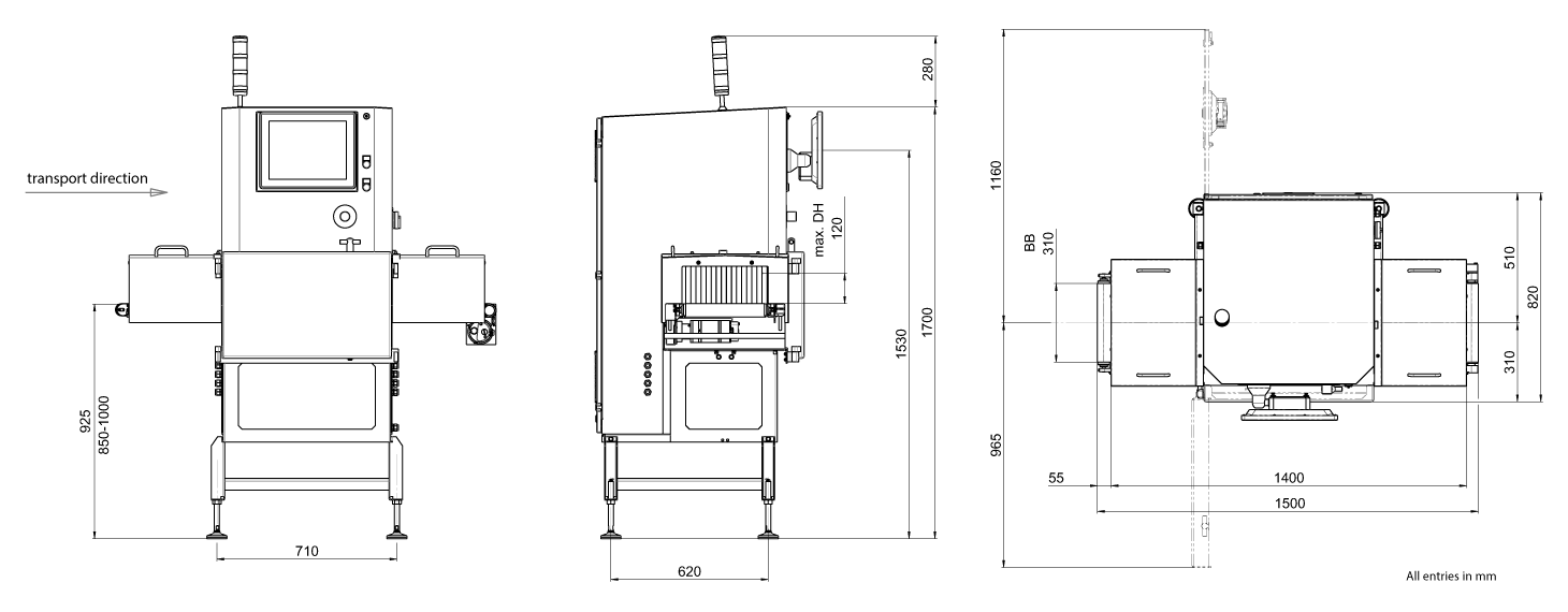 hight resolution of x ray inspection sc e 3000 technical drawing medium